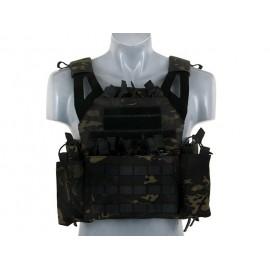 Multicam Black JPC Vest w/ Pouches