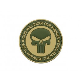 Patch PVC God Will Judge Our Enemies OD