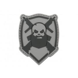 Patch PVC Beared Skull