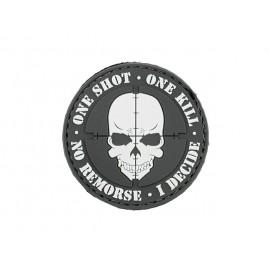 Patch PVC One Shot One Kill