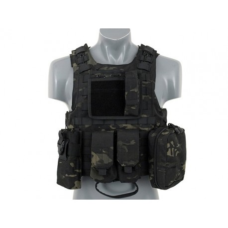 Hangar18 Aav Fsbe Multicam Black Vest rtQdCshx